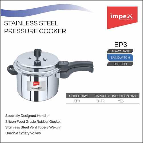 IMPEX Pressure Cooker 3 Ltr ( EP 3)