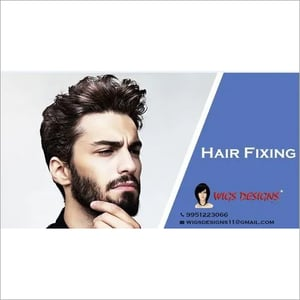 Non-surgical Hair Patch