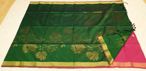 Fancy Soft Silk Saree - 2