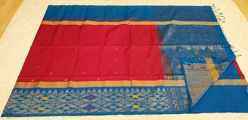 Fancy Soft Silk Saree - 3
