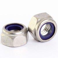 Stainless Steel Nylock Nut