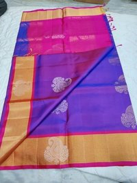 Fancy Soft Silk Saree - 4