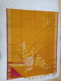 Fancy Soft Silk Saree - 5