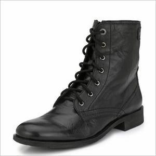 Alberto Torresi Barcus Black Ankle Boots