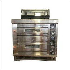 Double Deck Gas Bakery Oven