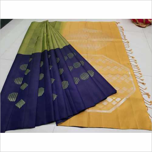 Fancy Soft Silk Saree - 6