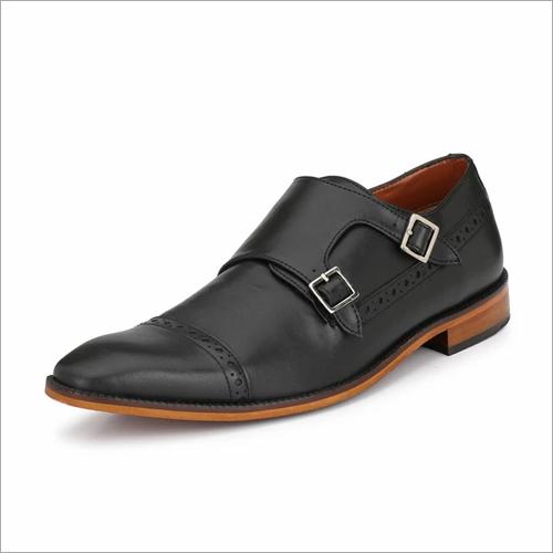 Alberto Torresi Men Jaques Black Formal Shoes
