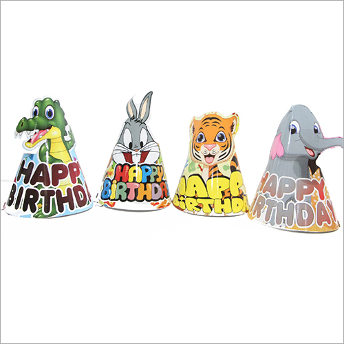 Cut Pop Up Birthday Party Cap