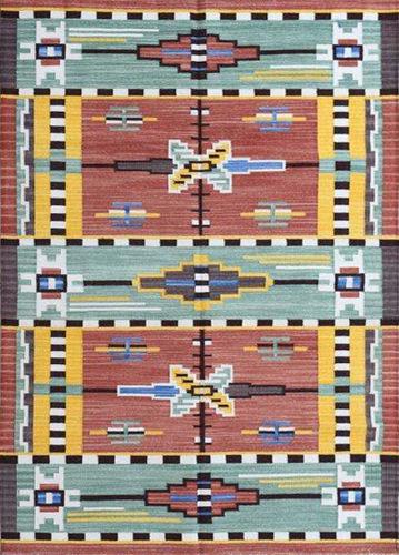Antique Cotton Handwoven Punja Durrie