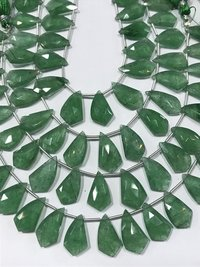 19 pcs Very rare green strawberry quartz fancy shape beads,strawberry quartz 11/19mm approx