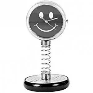 Smiley Spiral Clock