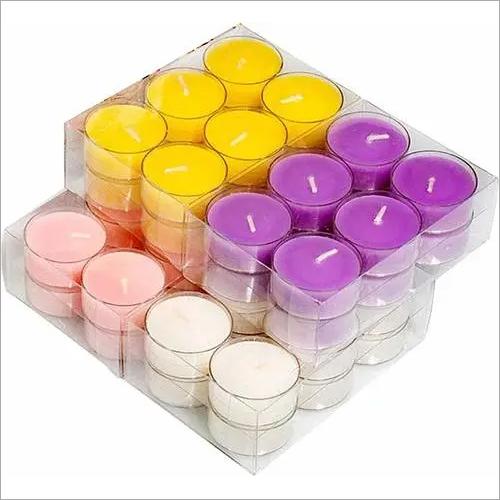 Tea Light Candles Multicolor