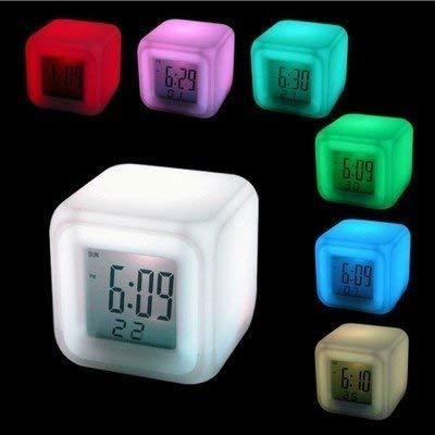 7 Color Changing Digital Alarm Clock