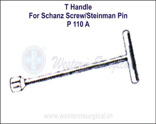 T Handle For Schanz Screw & Steinman Pin