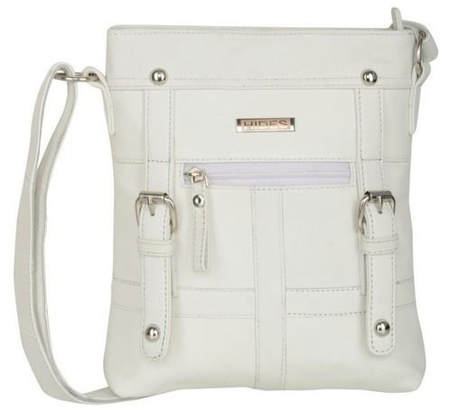 WHITE SLING BAG
