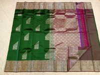 Fancy Soft Silk Saree - 7