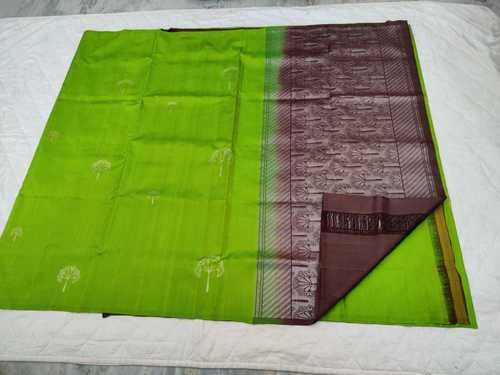 Fancy Soft Silk Saree - 9