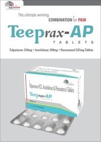 Aceclofenac 100mg + Paracetamol 325mg + Tolperisone 150mg