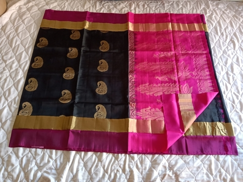Fancy Soft Silk Saree - 10