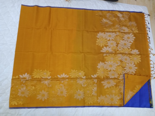 Fancy Soft Silk Saree - 11