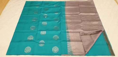 Fancy Soft Silk Saree - 12