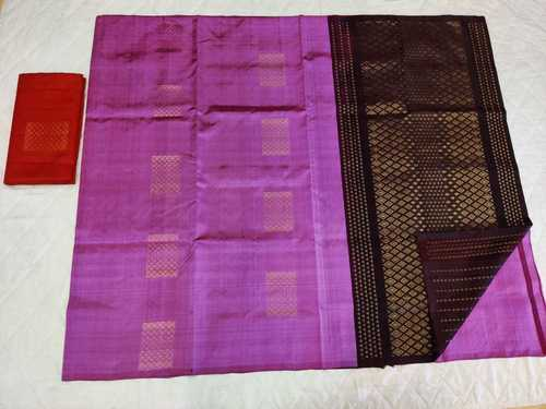 Fancy Soft Silk Saree - 14