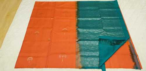 Fancy Soft Silk Saree - 15