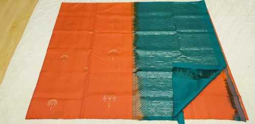 Fancy Soft Silk Saree - 15