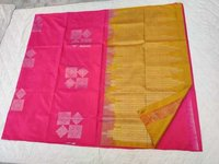 Fancy Soft Silk Saree - 17