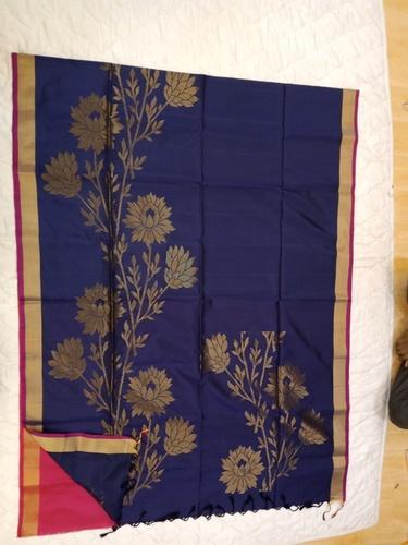 Fancy Soft Silk Saree - 18