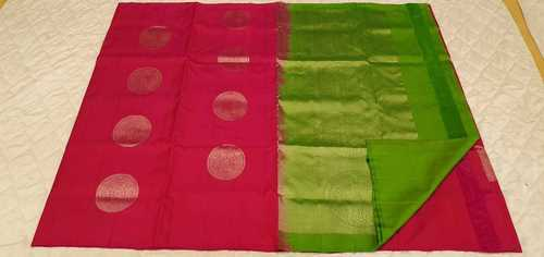 Fancy Soft Silk Saree - 30