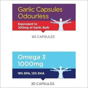 Garlic Soft Gel Capsules