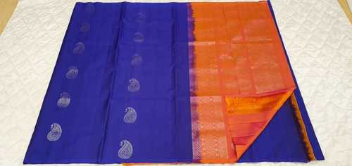 Fancy Soft Silk Saree - 34
