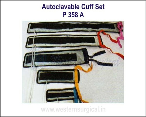 Autoclavable Cuff Set