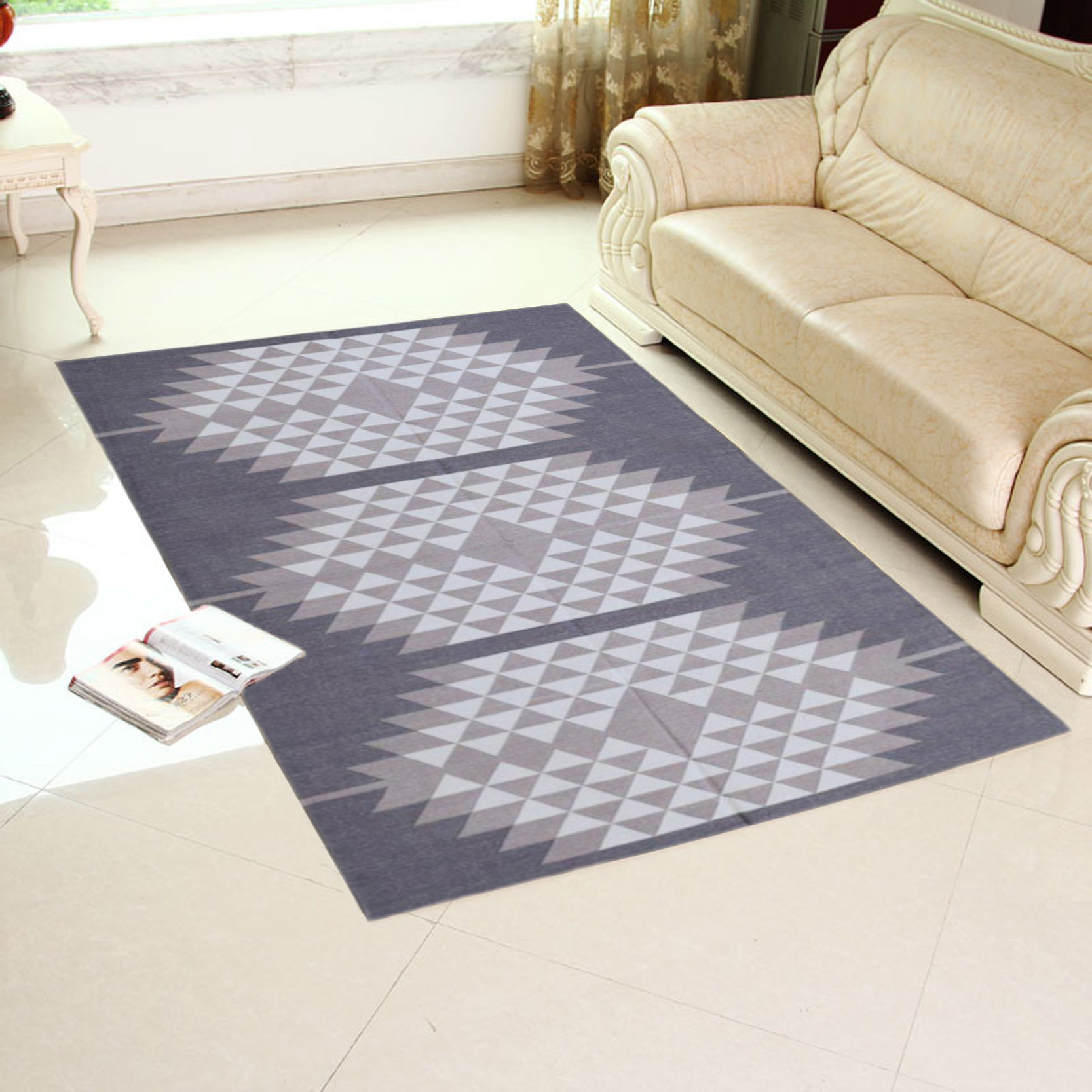 Cotton Flat Weave Carpet
