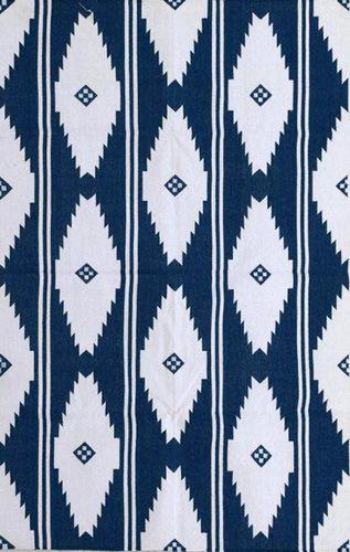 Handmade Cotton Flat Weave Rug