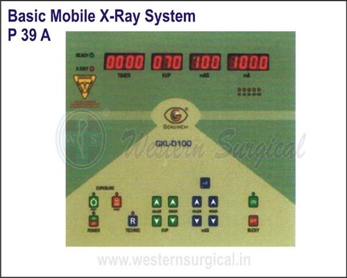 Basic Mobile X-Ray System