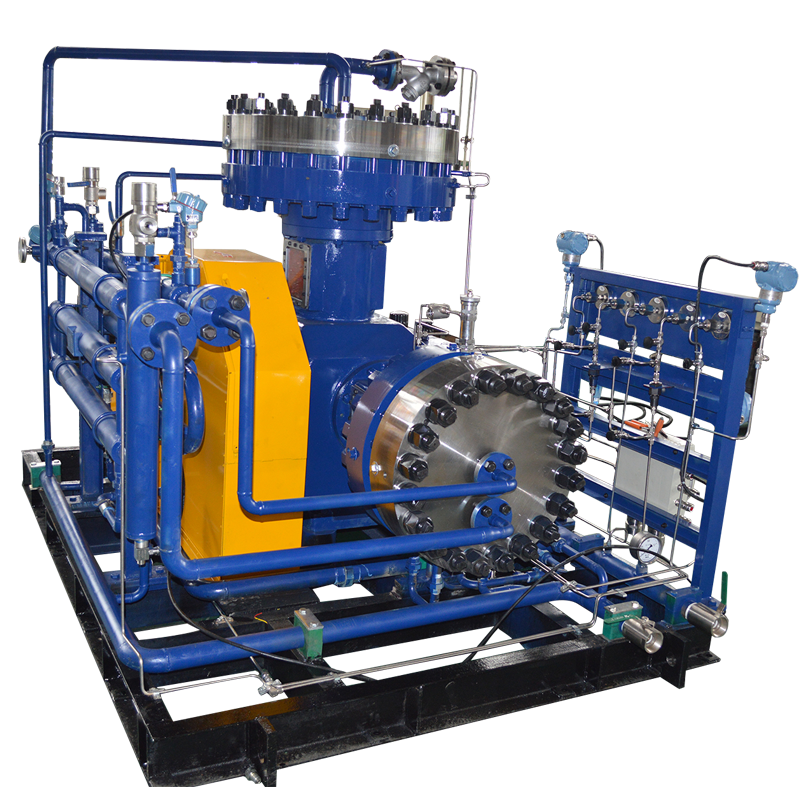 25Nm3/h Syngas Gas Booster Diaphragm Compressor
