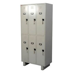 6 Door Industrial Locker