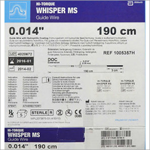 Hi-Torque Whisper MS Guide Wire