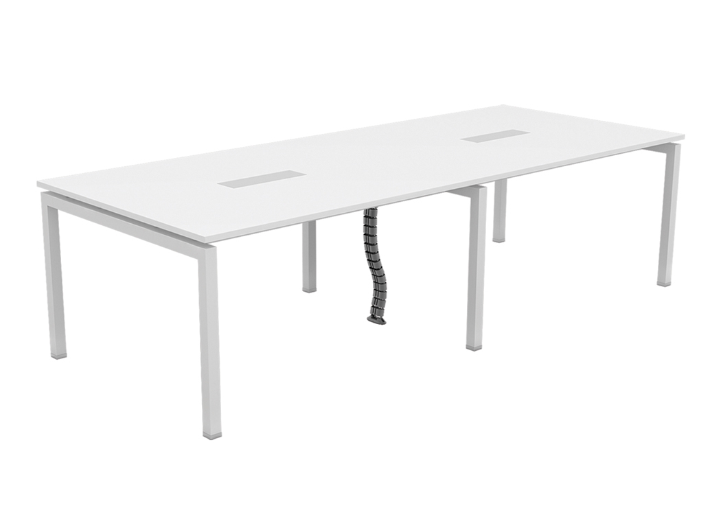 Rectangular Workstation Table