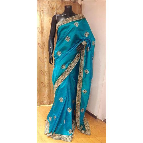 100% Pure Silk Zari Work Saree