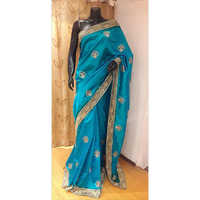 100% Pure Silk Zari Work Saree