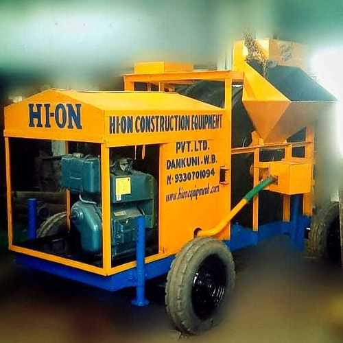 Single Drum Mobile Hot Mix Plant