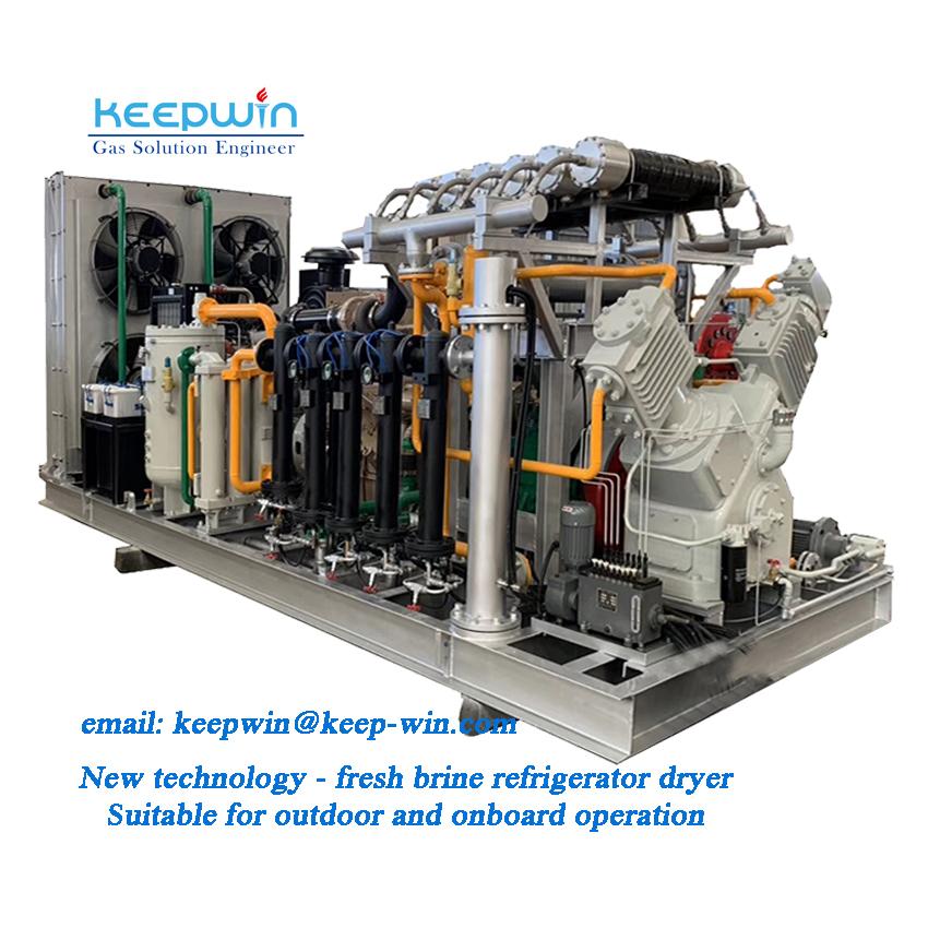 30Mpa High Pressure Ammonia Gas Booster Compressor