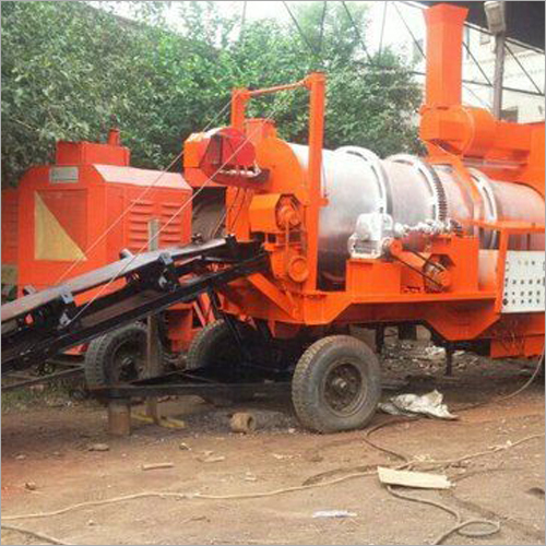 Trolley Mounted Hot Mix Plant