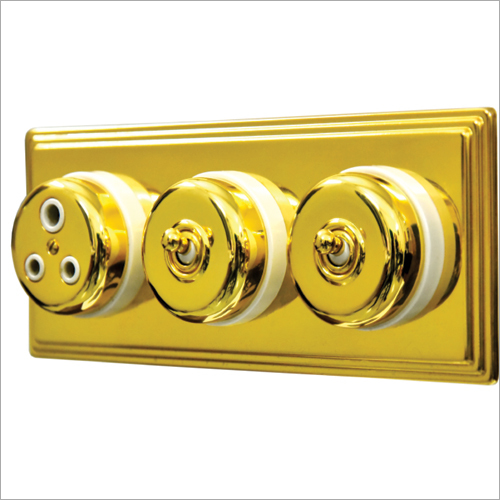 24Kt Gold Plated Heritage Switch
