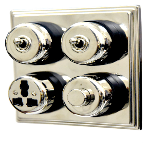 Bright Chrome Finish Switch