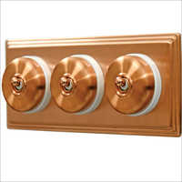Rose Gold Finish Heritage Dolly Switch