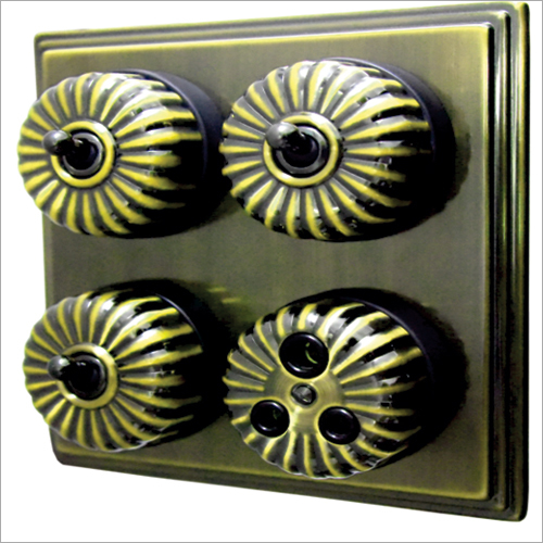 Antique Brass Finish Heritage Switch